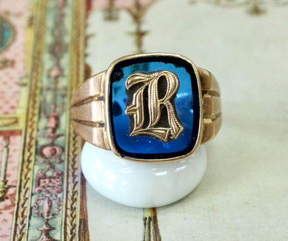 Bold & Colorful ~ Men's Vintage Ring