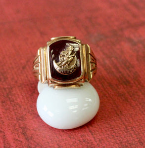 Unusual & Fun ~ Vintage Men's Ring from Greenwich, NY