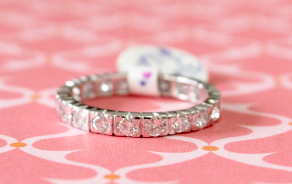 Alluring ~ Diamond Eternity Band
