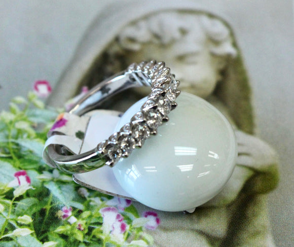 Dazzling ~ Diamond Wedding Band