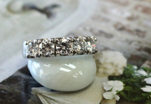 Gorgeous ~ Diamond Wedding Band