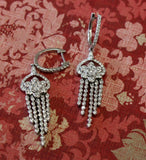 Dazzling  ~ Diamond Drop Earrings