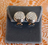 Delicious ~ Pave Diamond Earrings