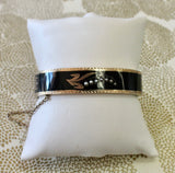 Victorian ~ Enamel Bangle Bracelet