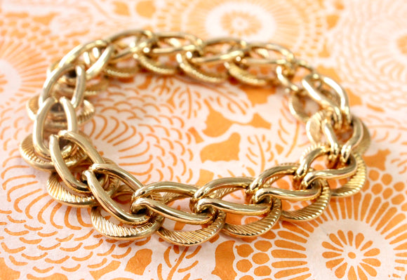 GORGEOUS ~ Retro Gold Bracelet