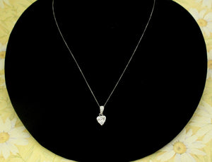 5 Diamond Heart Pendant ~ WOW