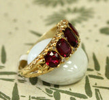 GORGEOUS ~ Ruby and Diamond Ring