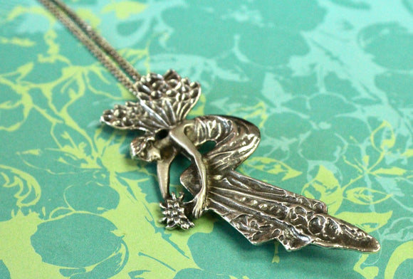 Whimsical ~ Sterling Necklace with Pendent