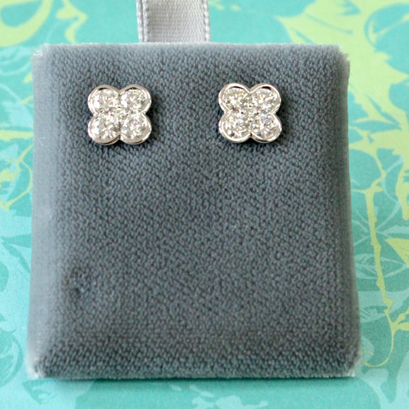 Sweet & Sparkly ~ Diamond Stud Earrings