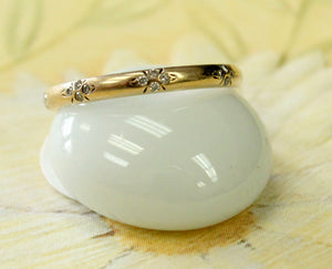 Dainty  ~ Diamond Band Ring