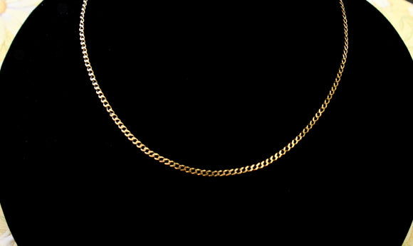 Classic ~ Yellow Gold Chain Necklace
