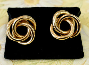 Classic ~ Knot Style Earrings