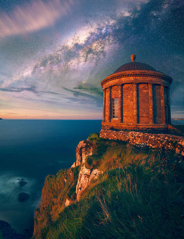 "Mussenden Temple '55°10'03.7""N 6°48'40.0""W - ConorEdgell"