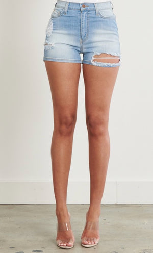 Vibrant Denim Short