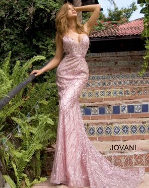 Jovani Sample Gown - Pink