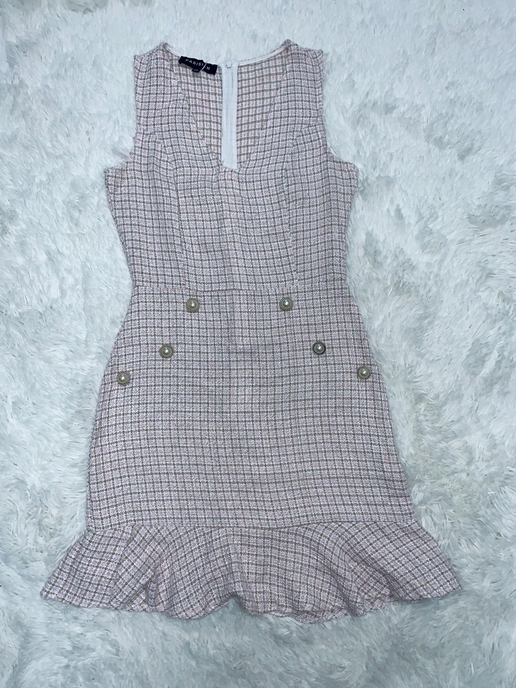 Sienna Tweed Dress