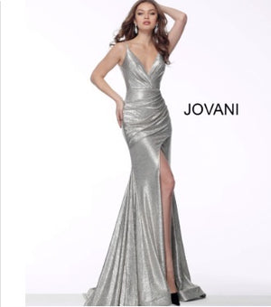 Jovani Sample Gown - Metallic