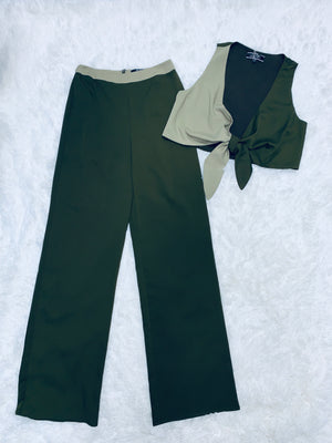 Color Block Set - Olive