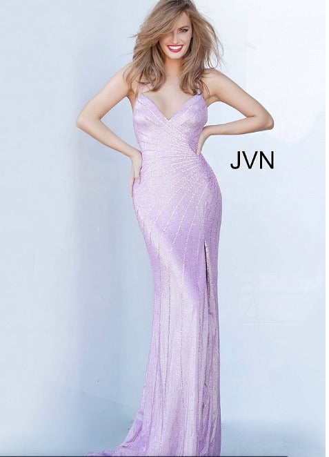 JVN Sample Gown - Dark Purple