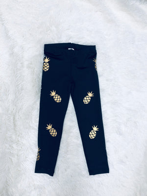 Kid's Pineapple Leggings