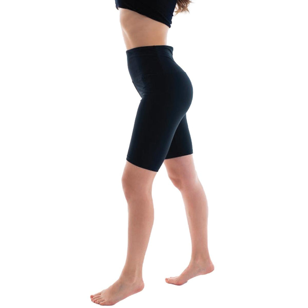 High Waist Bike Short - Black