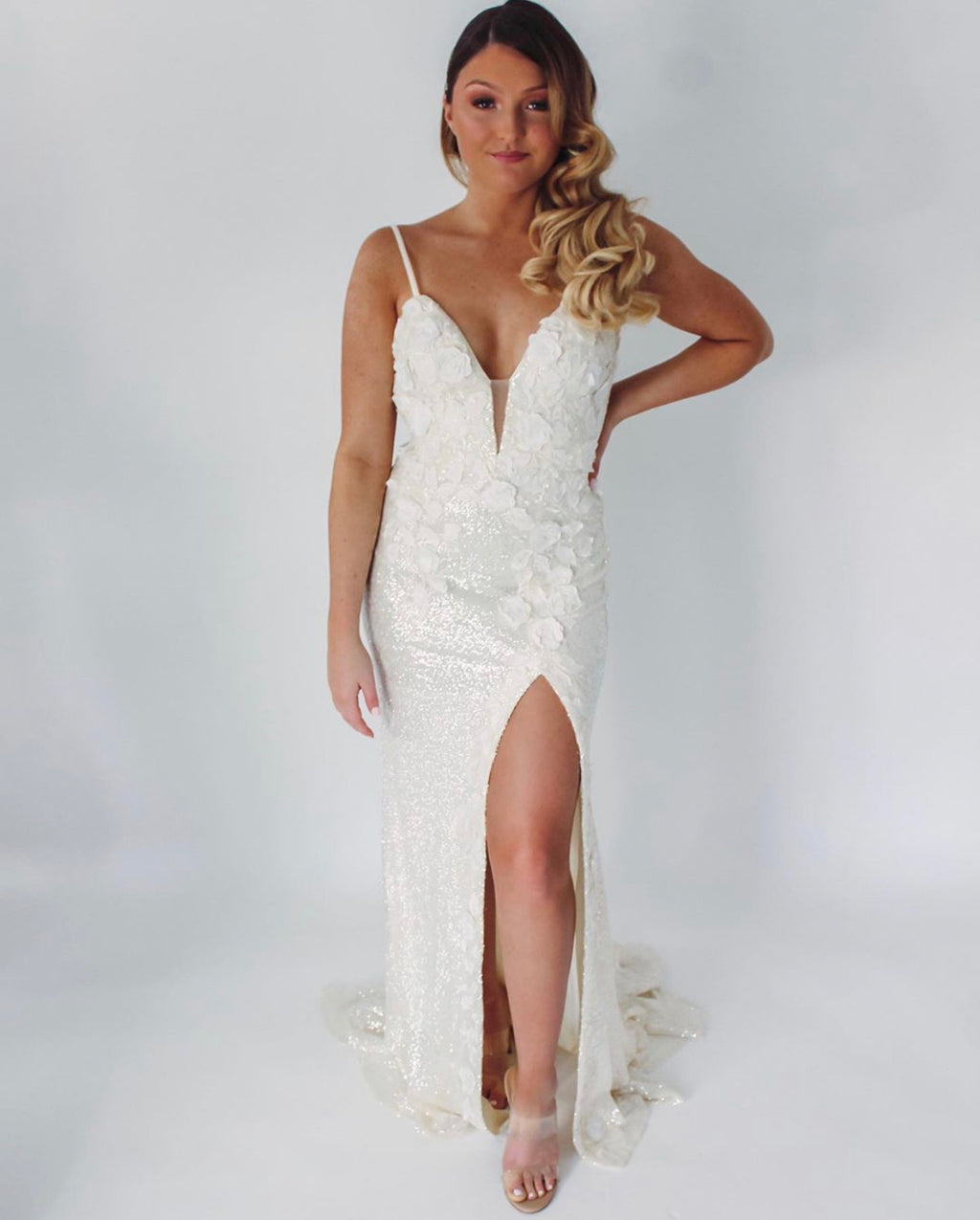 Jovani Sample Gown - Cream