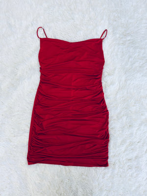 Bodycon Dress - Red