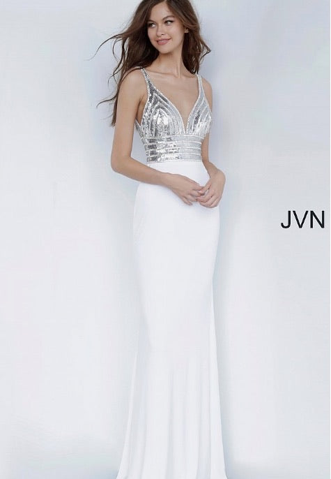 JVN Sample Gown - White