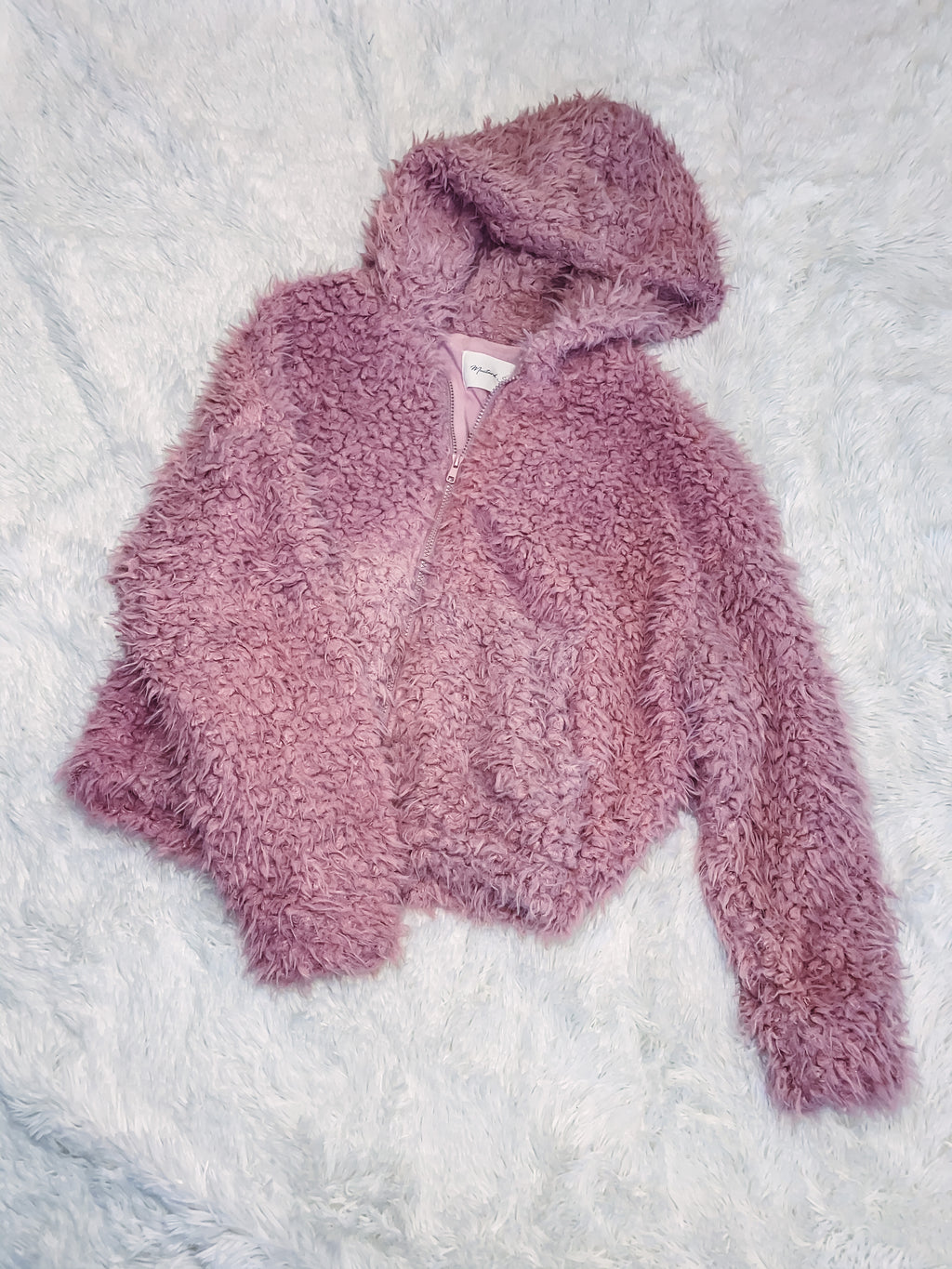 Cropped Teddy - Mauve