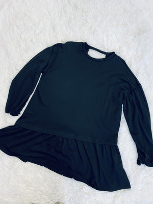 Ruffle Mini - Black