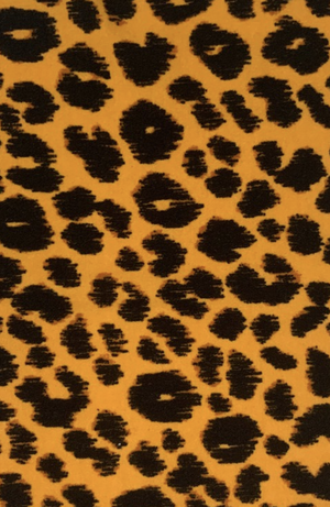 Face Mask - Bright Leopard
