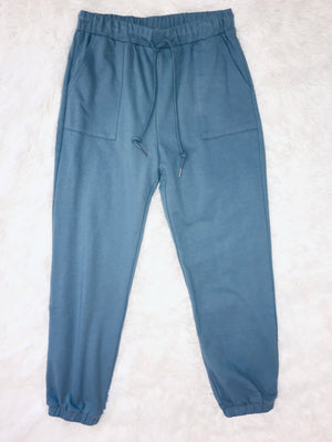 Casual Joggers - Blue