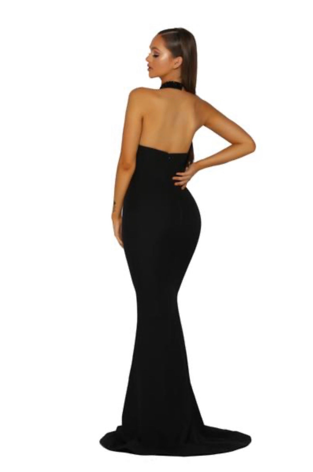 Portia Sample Gown - Black