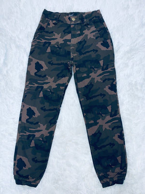 High Rise Jogger - Army
