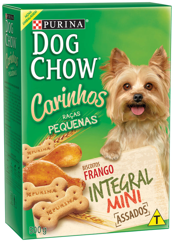 Snacks DOG CHOW CARINHOS Integral Mini 500g