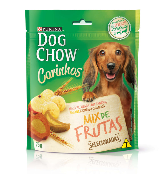 Snacks DOG CHOW CARINHOS Mix de Frutas 75g