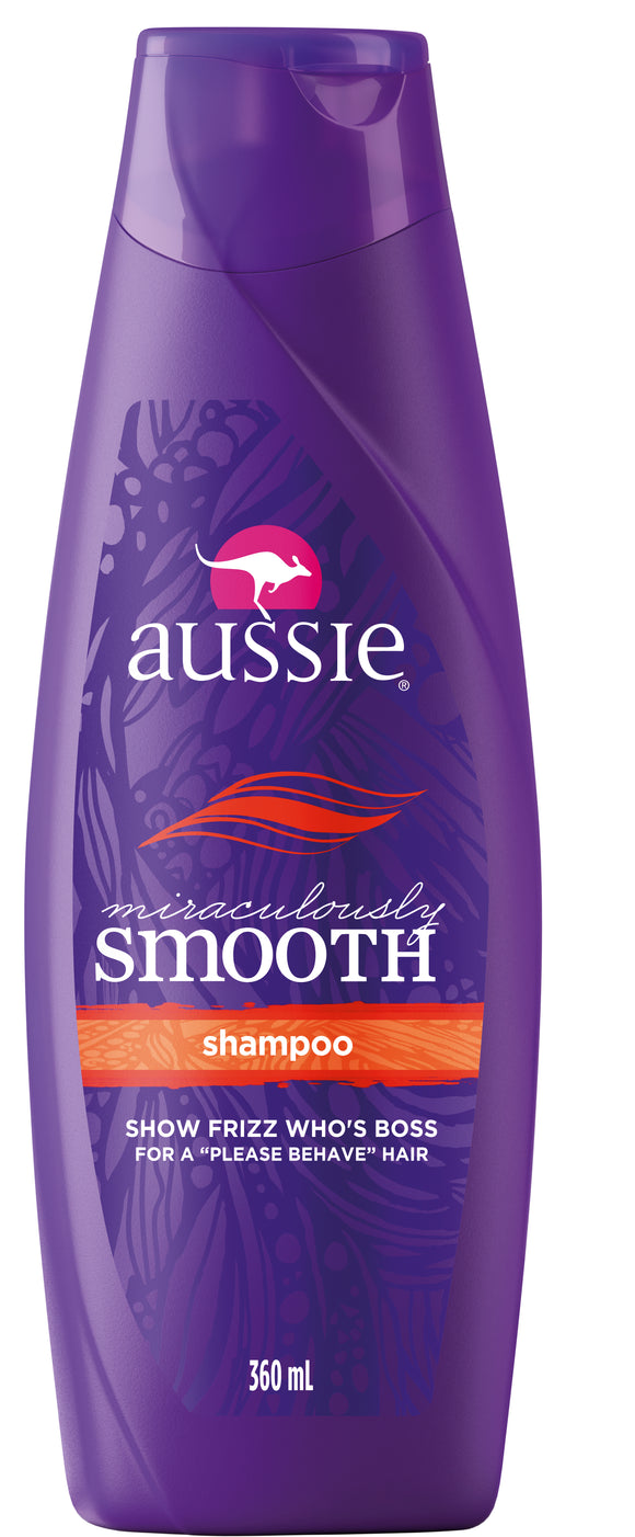 Shampoo AUSSIE Miraculously Smooth Hidratante 360 ml