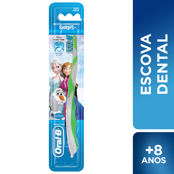 Escova Dental ORAL-B Stages 4 Frozen