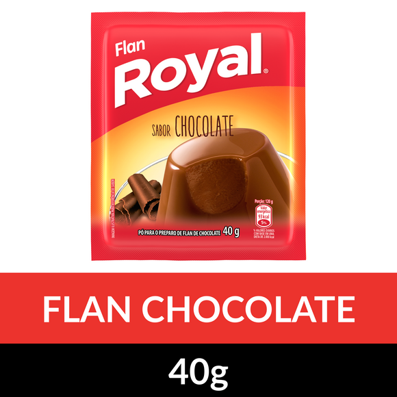 Flan ROYAL Chocolate 40g