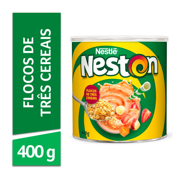 Cereal NESTON flocos 3 cereais 400g
