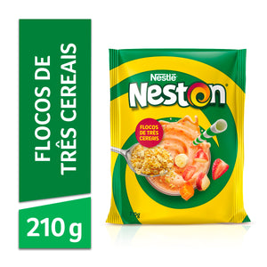 Cereal NESTON flocos 3 cereais 210g