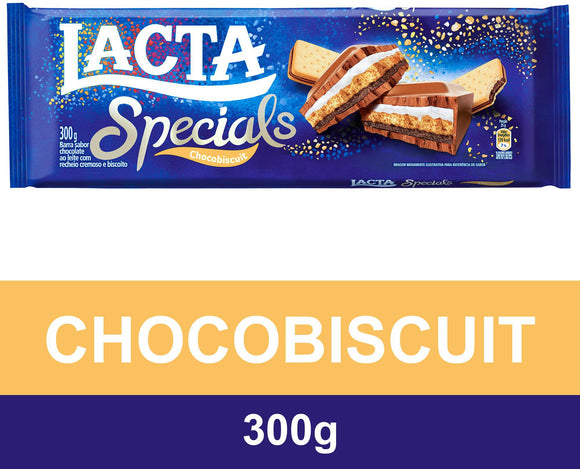 Chocolate LACTA Specials Chocobiscuit 300g