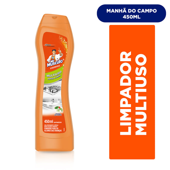 Saponáceos MR. MÚSCULO Cremoso Manhã do Campo 450ml