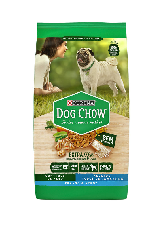 NESTLÉ PURINA DOG CHOW Adultos Frango e Arroz 3kg