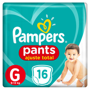 Fralda Pampers Pants Confort Sec G 16