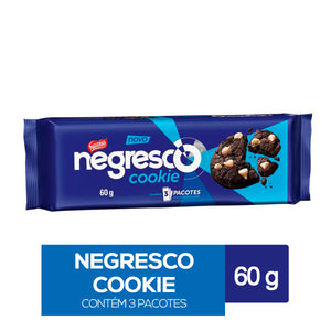 Cookie NEGRESCO chocolate com gotas de baunilha 60g