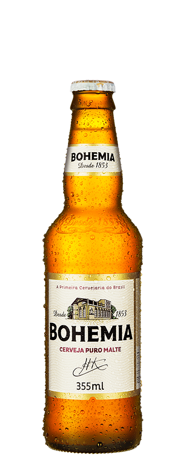 Cerveja BOHEMIA Long Neck 355ML