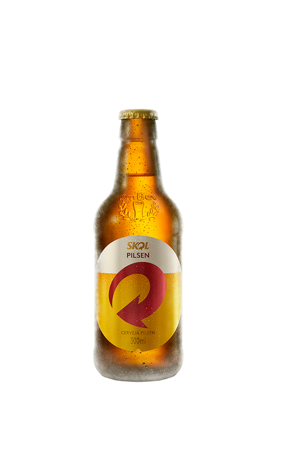Cerveja SKOL Long Neck 300ML