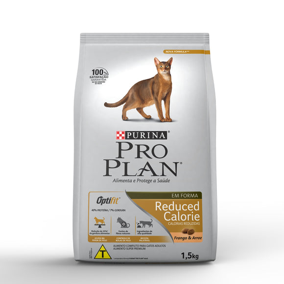 Ração Seca PRO PLAN Cat Reduced Calorie Gatos 1,5kg