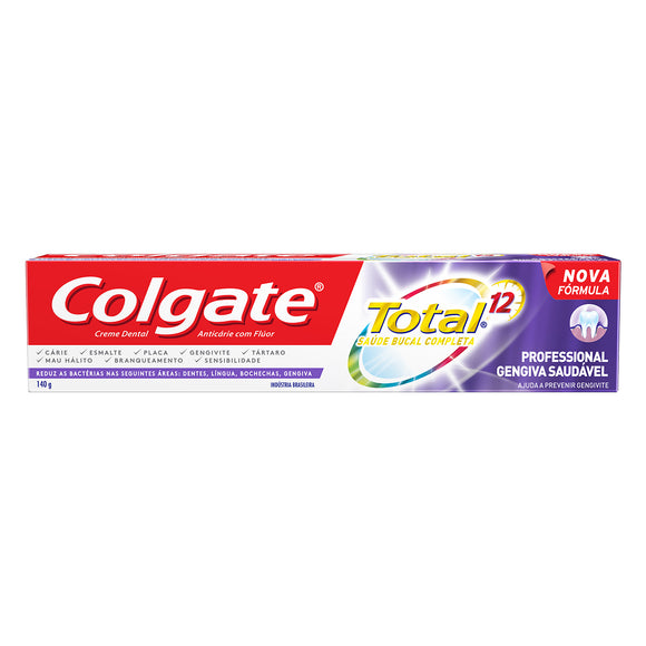 Creme Dental COLGATE Total 12 Professional Gengiva Saudável 140g
